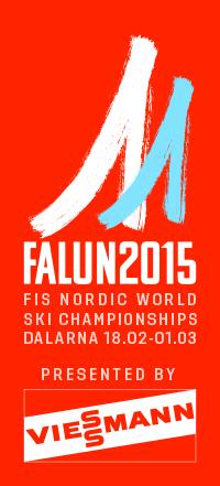 Logotyp för Falun 2015