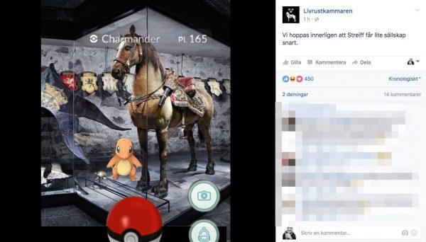 Livrustkammaren Pokemon Go